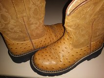 Ariat Ostrich boys boots in The Woodlands, Texas