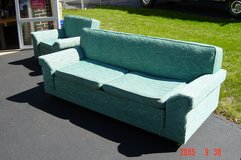 1960 Matching Couch bed and Chair in Naperville, Illinois