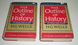 H.G. Wells 'The Outline of History' - *Reduced* in Naperville, Illinois