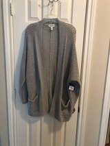 Arizona Jean Co (Lg) Grey Cardigan / Sweater in Houston, Texas