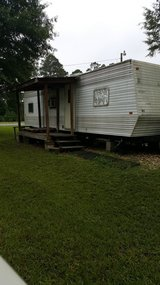 RV for rent at Walnut Hill RV Park in Leesville, Louisiana