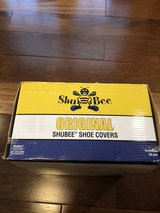 Box of Shoe Covers -  Shu Bee Original Shoe Covers in Navy Blue - Box of 48 Pairs* in Batavia, Illinois