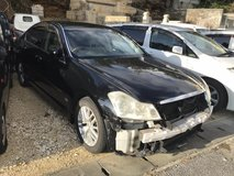 Nissan FUGA for parts in Okinawa, Japan