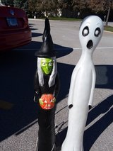 Halloween blow molds in Algonquin, Illinois