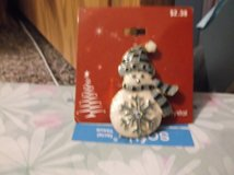 crystal snowman pin in Alamogordo, New Mexico