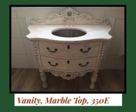 Bathroom Vanity, Marble Top in Stuttgart, GE