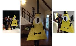 Cosplay Bill Cipher Gravity Falls Custom Made Deluxe Costume / Mascot / Halloween Child / Adult in Kingwood, Texas