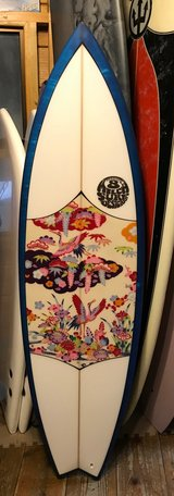 Beautiful Okinawan Surf Board in Okinawa, Japan