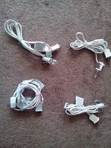 4 White Cord Wiring for Lighting with Bulbs in Westmont, Illinois