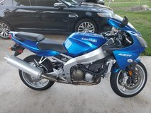 2008 Kawasaki ZZR 600 Very low miles in DeRidder, Louisiana