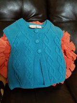 Adorable baby girls  cable knit  sweater size 6-9 months in Fairfield, California