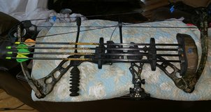 Quest compound bow in Fort Leonard Wood, Missouri