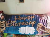 girls birthday party banner in Las Cruces, New Mexico
