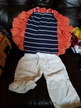 2 PC Baby Girl Outfit Size 12 Months in Travis AFB, California