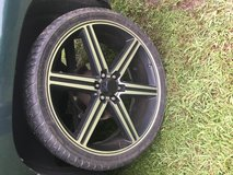 TRADE 26' rims and tires in Leesville, Louisiana