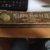 antique  marine band echo tremolo concert harp HARMONICA in Joliet, Illinois
