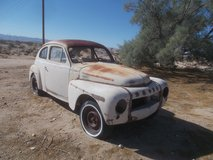 1958 Volvo coupe in Yucca Valley, California