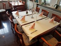 Restaurant furniture * 2 Exclusive dining tables (H-76cm, B-117cm, L-190cm) in Ramstein, Germany