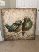 Huge bird pic canvas in Bolling AFB, DC