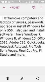 L aptop Repair Windows and Mac/ I also sell software in Hinesville, Georgia