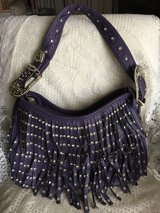 Montana West PURPLE FRINGE PURSE in Alamogordo, New Mexico