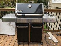 Weber Genesis E-320 Natural Gas Grill in Plainfield, Illinois