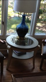 round end table or sm coffee table in Naperville, Illinois
