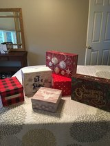 Variety Holiday Decor Boxes in Sugar Grove, Illinois