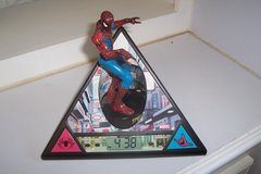 Spiderman alarm clock in Conroe, Texas