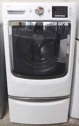 FRONT LOAD MAYTAG MAXIMA WASHER WITH STAND in Camp Pendleton, California