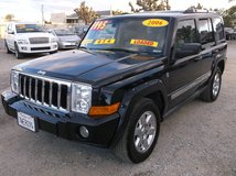 "2006 JEEP COMMANDER LIMITED 5.7L HEMI V8 AUTO 4X4 "" FULLY LOADED "" .......$5995 in Yucca Valley, California"
