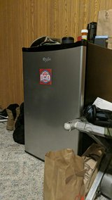 Miniature fridge in Fort Riley, Kansas