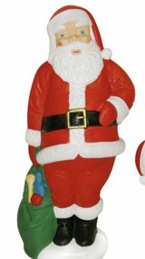 """WANTED: Santa plastic blow mold 60"""" in Cherry Point, North Carolina"""