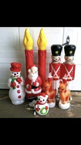 WANTED: Blow mold Christmas decorations in Cherry Point, North Carolina