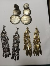 Dangling Pierced Earrings 3/$1 in Eglin AFB, Florida