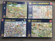 4 New Puzzles 3000 piece in Lakenheath, UK