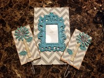 3 Pc Wood Home Decor Frame & Hook Set Hobby Lobby Wooden in Byron, Georgia