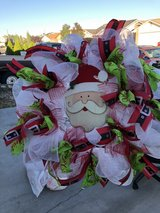 holiday wreath in Fort Bliss, Texas