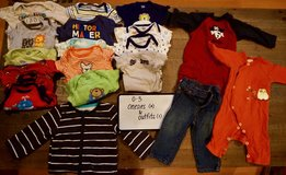 Boy's Clothes Lot - 0-3 Month Onesies and Outfits in Okinawa, Japan
