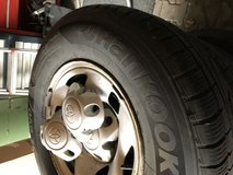 Toyota Tacoma PreRunner 2002 rims and winter tires in Ansbach, Germany