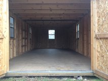 Prewoned 12X24 Lofted Barn Storage Building Shed DISCOUNTED!! in Moody AFB, Georgia