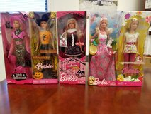 Easter Barbie's in Nellis AFB, Nevada
