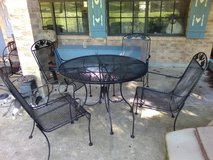 Patio Table with 4 chairs in Livingston, Texas