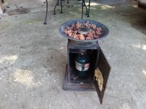 Patio propane heater in Livingston, Texas
