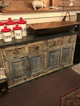 Reclaimed Wood Buffet in The Woodlands, Texas