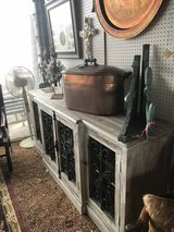 Sideboard with Metal Accents in The Woodlands, Texas