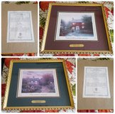 Thomas Kinkade Accent Prints w/ COA in Barstow, California