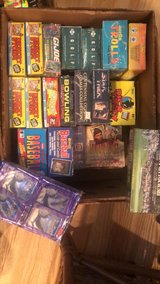 Unopened trading cards in Beaufort, South Carolina