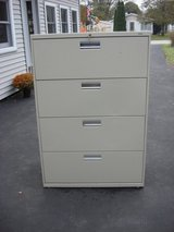 FOUR DRAWER LATERAL FILE CABINET in St. Charles, Illinois
