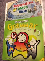 Math and Grammar books for Elementary classes in Naperville, Illinois